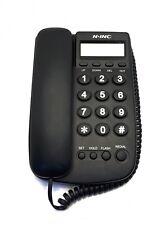 Telefono Fisso N.Inc KX-T078CID Con Filo Display Lcd Orologio Rubrica hsb