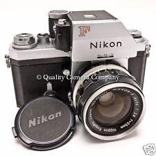 Nikon F 35mm SLR+NIKKOR-S 35mm f/2.8 Len - EX CLASSIC MANUAL FOCUS FILM SHOOTER