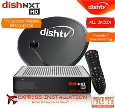 DISHTV NXT HD+ Connection  *Free North Titanium Pack + HD pack Worth ₹780*
