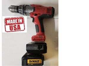 Dewalt 20v Lithium battery to  Milwaukee V18  Nicad tool adapter Global shipping