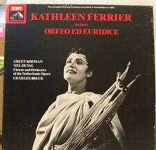 KATHLEEN FERRIER ORFEO ED EURIDICE KOEMAN DUVAL CHARLES BRUCK 2LP-BOX (d669)