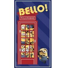ONE IN A MINION~QT FABRIC PANEL~23 BY 44 INCHES~BRITISH INVASION~BELLO~BOOTH