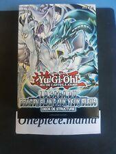 ♦Yu-Gi-Oh!♦ Deck de Structure : La Saga du Dragon Blanc aux Yeux Bleus - VF/SDBE