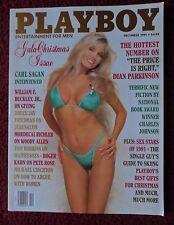 Playboy Magazine Dec 1991 ~ Dian Parkinson NUDE + Wendy Hamilton Centerfold