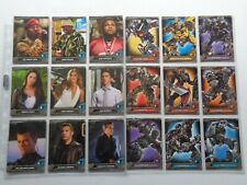 Transformers Optimum Collection    Full set of  72   Trading Cards