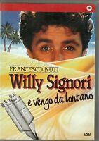 WILLY SIGNORI E VENGO DA LONTANO (1989) di Francesco Nuti DVD EX NOLEGGIO C.GORI