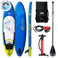 "Aqua Marina 10.6"" Beast 2019 SUP Board Inflatable Stand Up Paddle - Blau (BT-19BEP)"