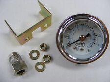 Druckanzeige, Airride, Luftfahrwerk, Manometer, 1 Zeiger, analog, unbeleuchtet