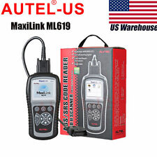 Autel MaxiLink ML619 OBD2 CAN SRS ABS AirBag Auto Diagnostic Scanner Code Reader
