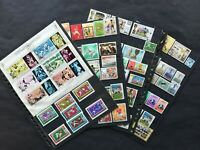 FOOTBALL (soccer):  81 stamps + 1 sheet (Y.A.R.) of Mexico 1970