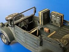 Plus Model 1:35 Kubelwagen Radio Car Kfz.2 Conversion Set For Tamiya Kit #250