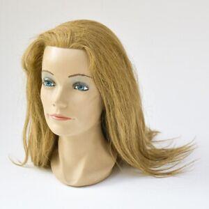 Tête à coiffer cheveux long Pivot point 3  4 – 1 H 32 cm