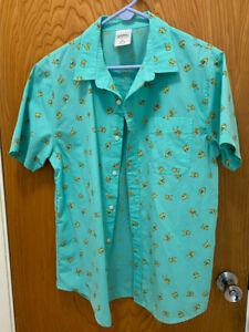 Urban Outfitters Pokemon Pikachu Button Down Shirt [Medium]