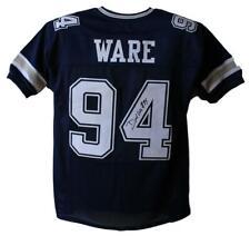 Demarcus Ware Autographed/Signed Dallas Cowboys Blue XL Jersey JSA 24522