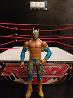 WWE SIN CARA WRESTLING FIGURE BASIC SERIES 18 MATTEL 2012 Rare Lucha dragons