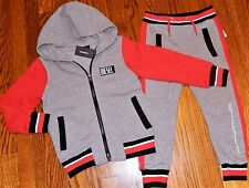 DIESEL JEANS AUTHENTIC BOYS BRAND NEW ORIGINAL 2Pc SET HOODED SUIT Size 4T, NWT