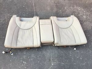 LEXUS LS430 REAR UPPER BACK HEATED SEAT CUSHION WITH CENTER CONSOLE 04-06 OEM