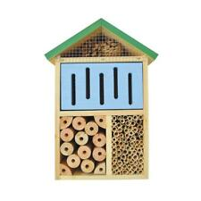 Better Gardens 12 in. Beneficial Insect Bee House Mason Garden Pest Control New