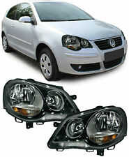 REPLACEMENT HEADLIGHTS FOR VW POLO 9N3 4/2005 - 5/2009 MODEL