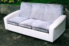 vintage Canapé période 1960 1970 design fauteuil siège pieds chromé   bon état