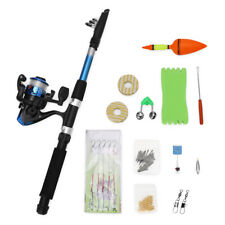 1.8m Saltwater Telescopic Fishing Rod with Reel Combos Fishing Pole Lure Kit Set