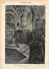 Paris Comédie-Française Hernani de Victor Hugo Dessin de Mr. Lix GRAVURE 1877