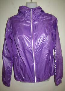 New LORNA JANE Logo Arm Hoodie Hooded Jacket Size Extra Small XS BNWOT