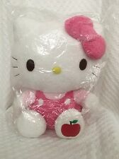 New 2011 Hello Kitty Plush Apple Scented Sanrio Pink Bow
