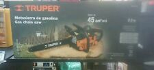 "Truper Mot-4518 Gas Chain Saw 18"" 45 Cc 2.2 Hp"