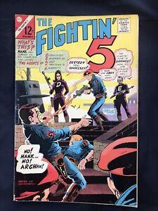 Charlton Comics The Fightin 5 Vol. 2 No. 40 1966 Comic Book