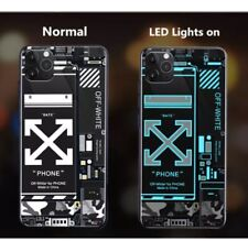 iPhone 11 Pro LED Light-up Flash Sound Control  Phone Case Cover (NEW)