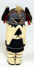 "Early c 1940-c1950 Hopi Crow Mother Kachina 6"""