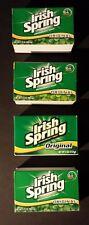 Irish Spring Deodorant Hand Bar Soap 4 (Four) 3.75 Bars Original Scent NEW