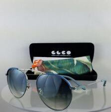 9fa957c2a7 Brand New Authentic Garrett Leight INNES D Light Blue Silver Sunglasses  Frame