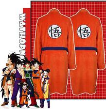 Dragon Ball Z Goku Bath Robe Warm Sleepwear Unisex Cosplay Bathrobe Nightwear