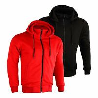 New Motorbike Motorcycle Fleece Hoody Hoodie Full CE Removable Protection Armour