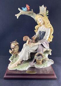 Florence Giuseppe Armani Disney Sleeping Beauty With Animals Figurine 0106C