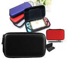 Black Hard Protective Carry Case Cover With Zip for Nintendo Switch Console Game