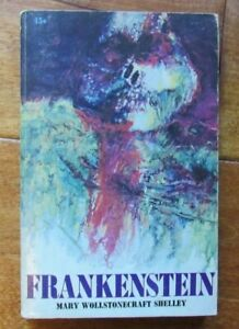 Frankenstein by Mary Shelley Vintage Scholastic T 942 1st printing 1967