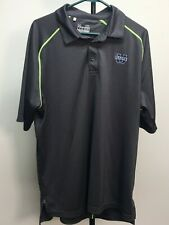 Under Armour Mens Polo Xl Loose Heat Gear Utah State University Logo On Chest