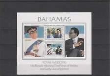 Wedding Charles and Diana postfris 1981 MNH Bahamas blok 33 (X843)