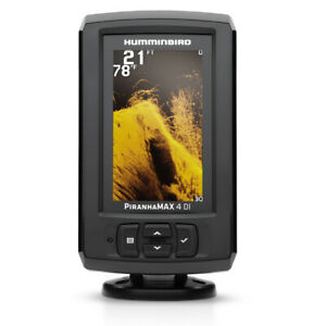 Expedited Delivery! Humminbird Piranhamax 4 DI Down Imaging Fish Finder 410160-1