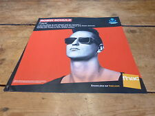 ROBIN SCHULZ - LILLY WOOD & THE PRICK !FRENCH RECORD STORE PROMO ADV / DISPLAY!!