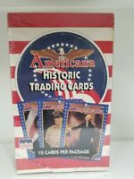 1992 Starline Americana Historic 36 Unopened Pack Trading Card Box