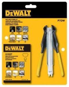 Dewalt P7DW Hog Ring Pliers Automatic Galvanized With Rubber Grip Kit NEW