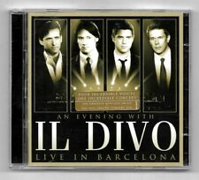 CD + DVD / IL DIVO - LIVE IN BARCELONA / CD 10 TITRES + DVD 23 TITRES ALBUM 2009