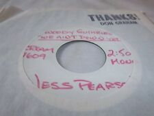 JESS PEARSON-WOODY GUTHRIE'S WE AIN'T DOWN YET-CREAM 7609 STEREO/MONO VG+ 45