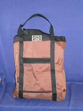 Vintage Toteables Canvas Bag by Action Bags Lined Water Resistant 15x17 inch
