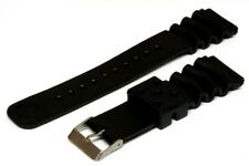 Rubber Diver Bracelet Z22, Fits Seiko 6309,7002 avec Acier Inoxydable Clip -4750