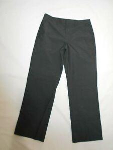 Ashworth men's Charcoal micro plaid flat front Golf Pants size 34 x 32 nwt